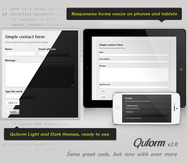 Responsive Ajax Contact Form